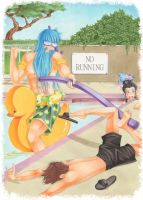 SMITE-Poolseidon: No Running At The Pool! by UGLITRY