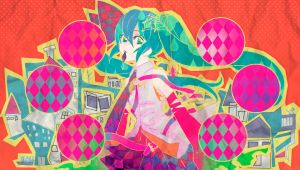 Ps Vita: Miku paper by Panelletdelimon