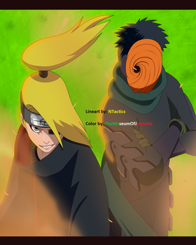 Bombs Away! ~ Naruto Shippuden by TheMuseumOfJeanette