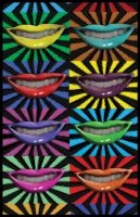 pop art lips by speedygonzalaz06