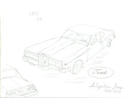 What if: 1971 Ford XL by stephdumas