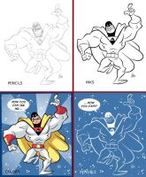 Space Ghost Step by Step by BezerroBizarro