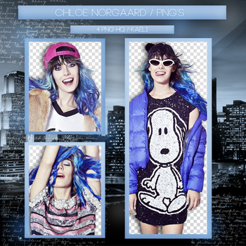 +Pack Png {Chloe Norgaad - 1} by ChaeliCamo