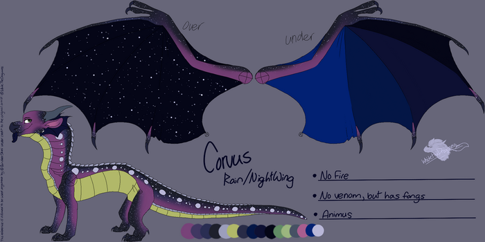 Corvus : Reference Commission  by Milo-On-The-Moon