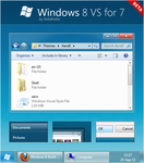 Windows 8 VS for Win7 by fediaFedia
