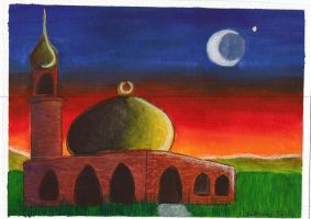 Evening Mosque by Lady-KL