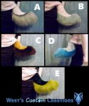 Hyena Tails For Sale! by WestWindHowling