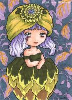 Artichoke Girl by yuzukko