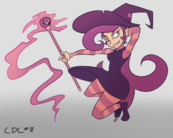 October 8th - Pez the Poison Witch by AndrewMartinD