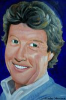 Michael Crawford oil painting by hayleybaileys