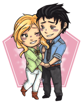 COM: Jaron and Lydia by Fuugis