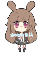 Pinkbunnii commission by shuumoe