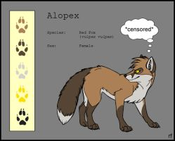 Alopex - Colorsheet by Skia