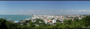 Pattaya panorama by Jensfromsweden