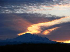 Mt Baker 22Feb2015-01 by SkyfireDragon