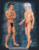 A Thong or two - male nudity by ValkyrieNZ