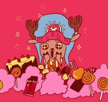 chopper in candyland by whinge
