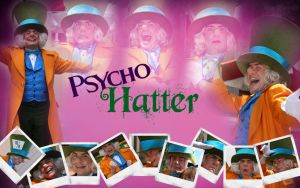 Psycho Hatter by margflower