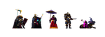 Random character sprites by TwoQuarters