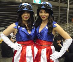 USO Girls at 2014 Sydney Supernova by rbompro1