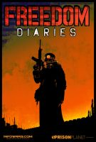 Freedom Diaries Poster by DrewtheUnquestioned