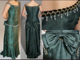 Emerald Victorian Gown by TransparentDream