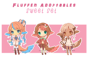 Fluffen adopts: sweets 2 (CLOSED) by Steamed-Bun
