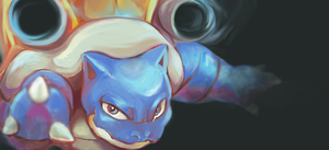 Blastoise by YoshiCanFly