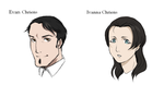 Iris's father and step mother by Ciorane