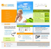 VoIP Website Sample by rheyzer
