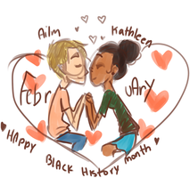 Happy Black History Month by temporaryWizard