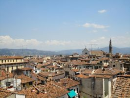 Firenze Rooftops by nightshade-keyblade
