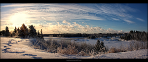 Frosty Land by Sagittor