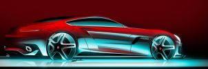 Mercedes GT coupe concept by Whitesnake16