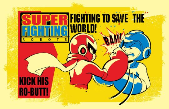 Super Fighting Robots by herms85