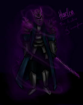 Harlan, The Avatar of Corrupton by kornelyte