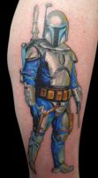 jango fett by michaelbrito