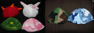 Six Toddler Hats - 2009 by BreachofReality