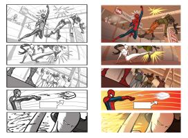 Page from Marvel Universe: Ultimate Spider man 2 by NunoPlati