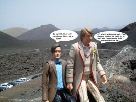 101 reasons for the Master to hate the Doctor by UncleGargy