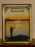 Gone Fishing Retirement Card for Barry by blackrose1959