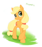 Applejack by bronyseph