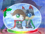 CG(2013): B en B SNowglobe by lifegiving