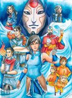 Legend Of Korra by radiant-suzuka