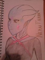 my asari creation by izaack77