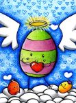 ACEO #1: Happy Easter by Aiseiri