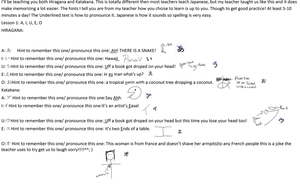 Japanese Lesson 1 by AskNemu