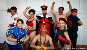 Street Fighter Group by AngelicStarGazer