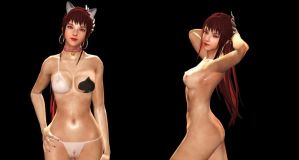 VINDICTUS Evy Naked by xo-BAHAMUT-ox