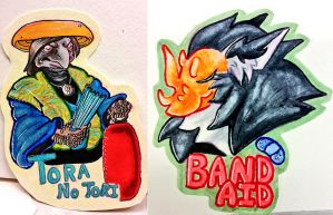 More Badges by CockatriceKING